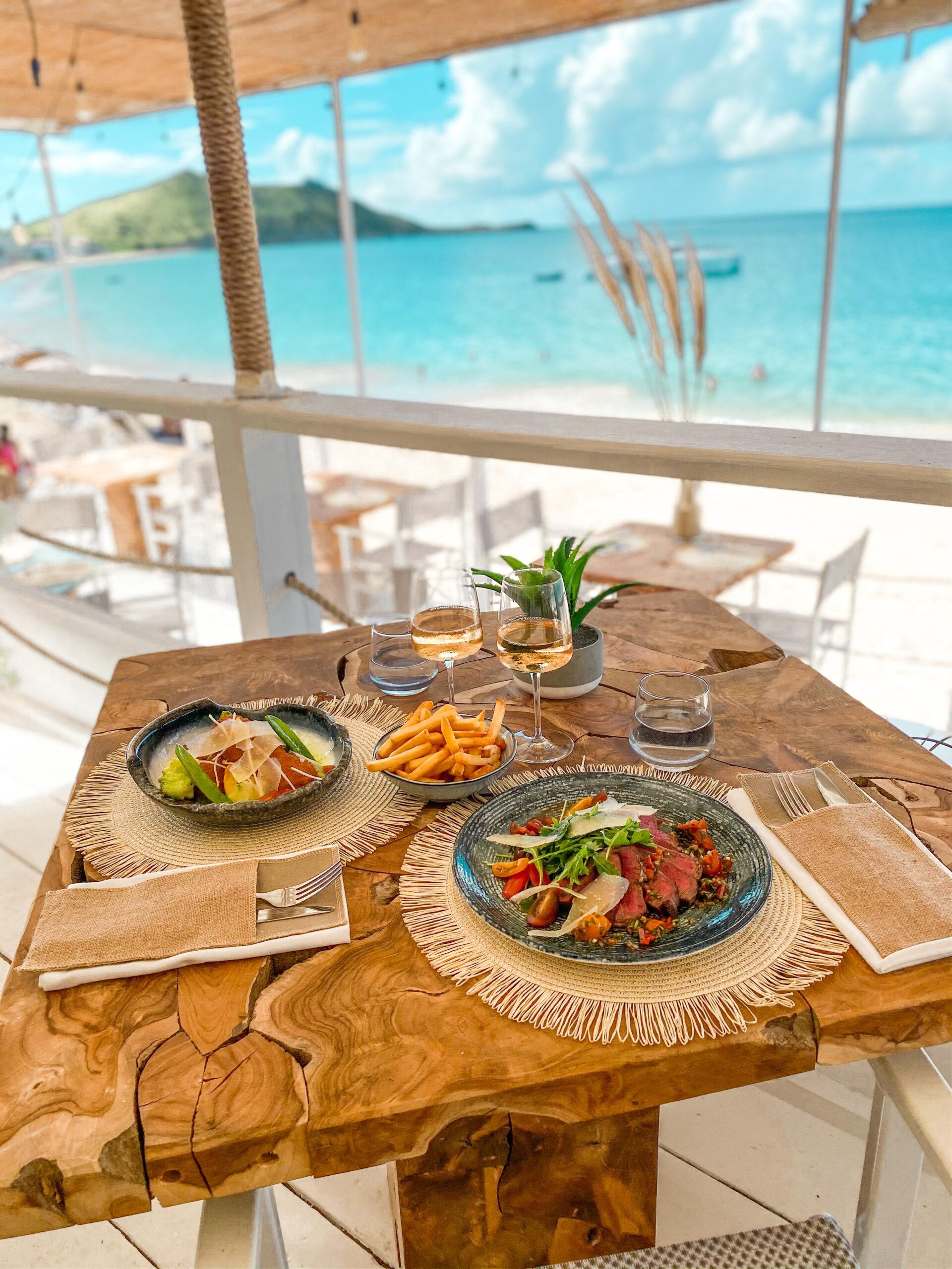 Lunch at Rainbow Café St Martin