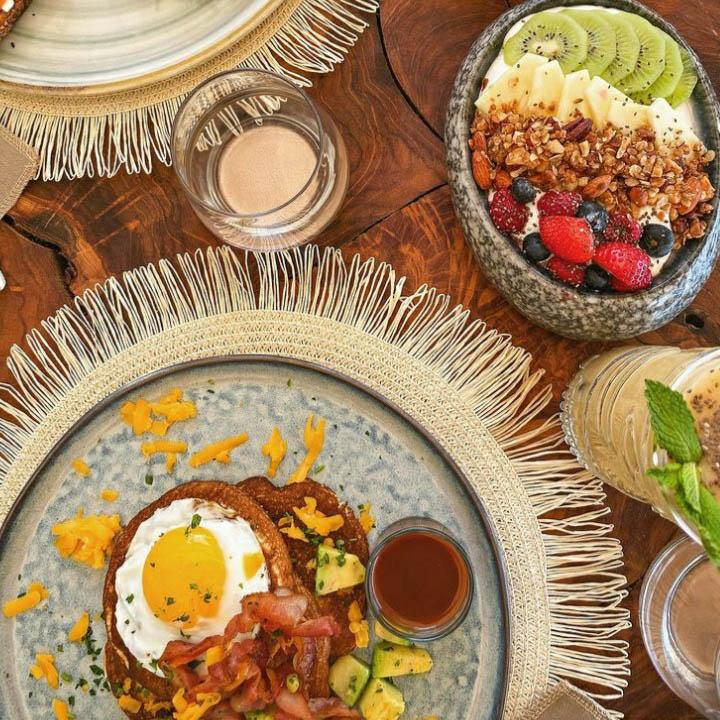 Rainbow Restaurant Breakfast in Rooftop Lounge - Best Breakfast on St Martin